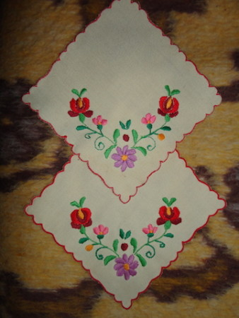 The original embroidery.