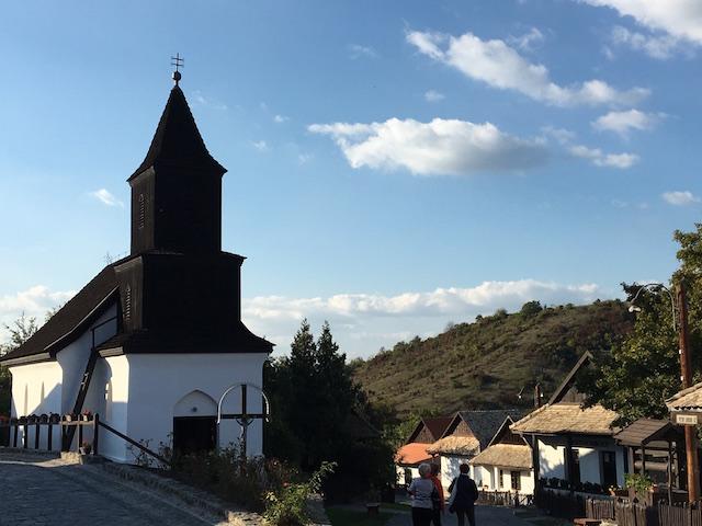 A church in Hollókő!